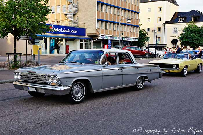 Bild Grußkarte Chevy Bel Air