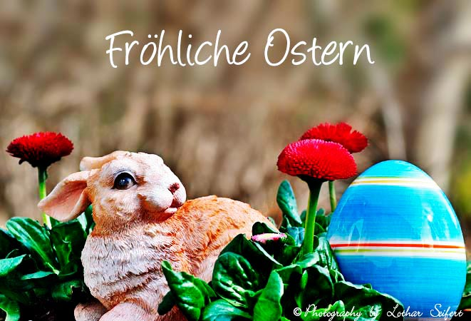 Greeting card Osterei