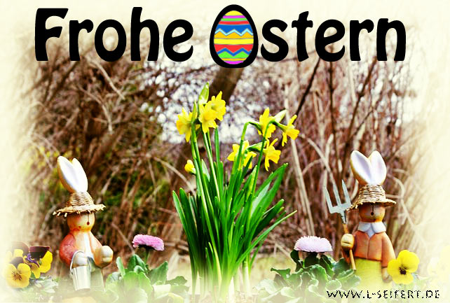 Greeting card Ostern eCards