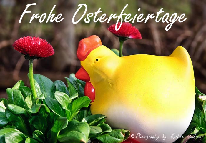 Greeting card Ostern