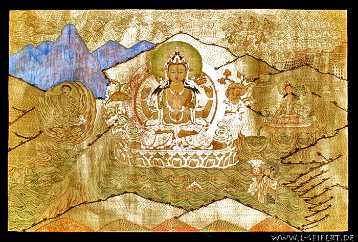Greeting card Thangka