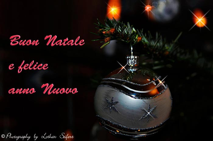 Greeting card Buon Natale