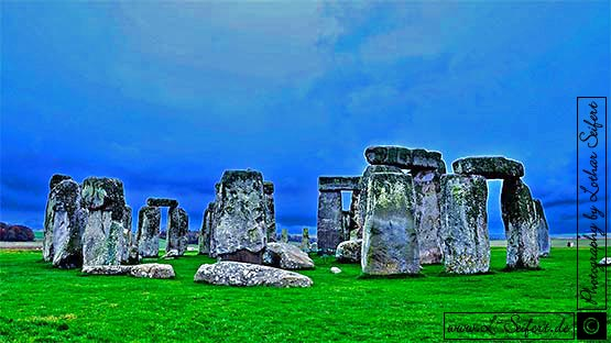 Greeting card Stonehenge