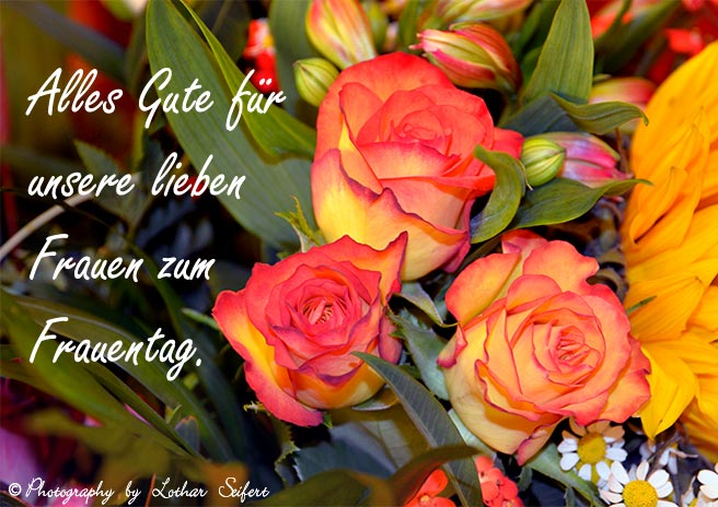 Greeting card E Cards Frauentag