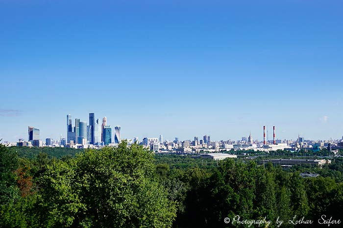 Greeting card Moskau City