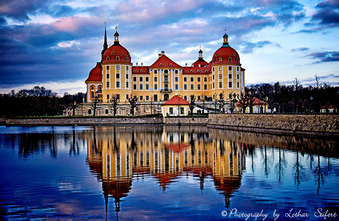 Greeting card Moritzburg Greetings
